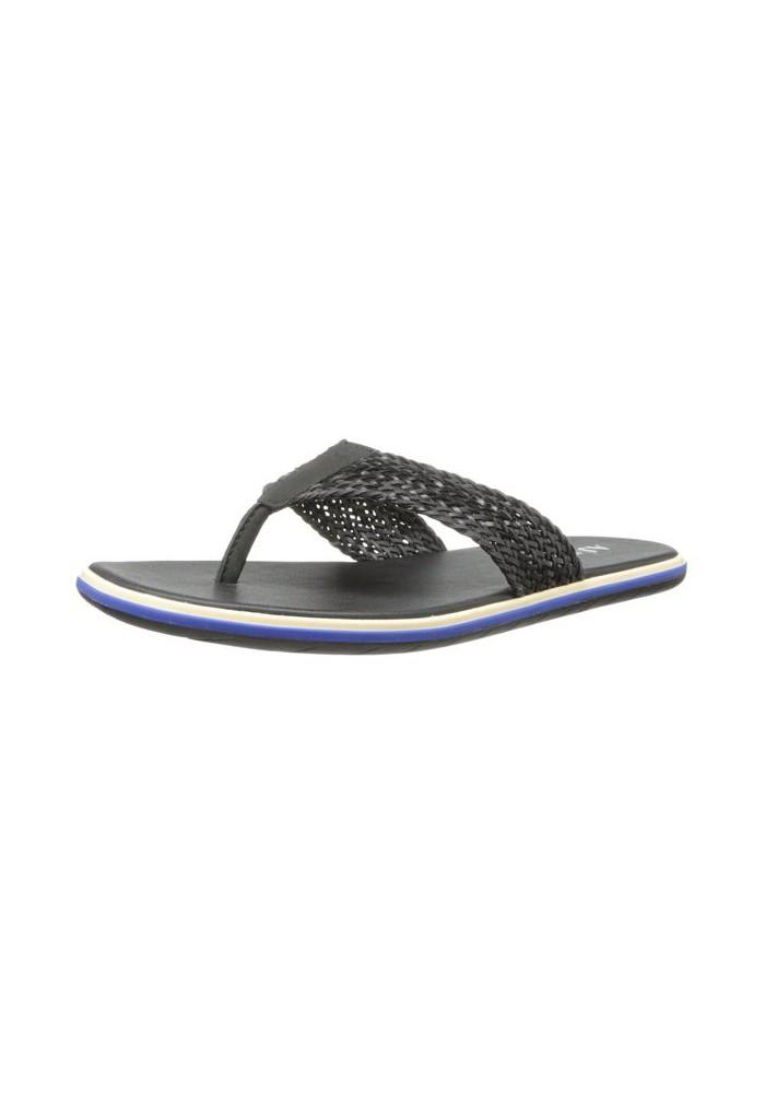Sandale Armani Jeans Woven Strap (Couleur : Noir) Homme