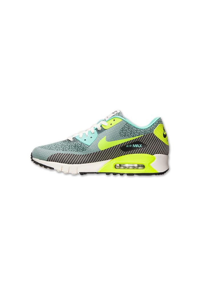 moins cher 18ff4 b4e28 Nike Air Max 90 Jacquard Volt (Ref : 669822-300) Chaussure Hommes mode 2014