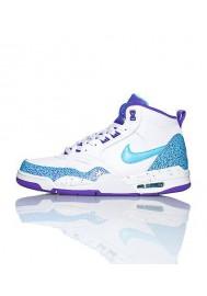 Baskets Nike Flight 13 Mid blanche (Ref : 646701-508) Hommes