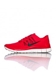 Running Nike Free 5.0+ Rouge (Ref : 579959-606) Basket Homme Mode 2014