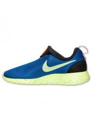Nike Roshe Run Homme / Slip On Bleu (Ref : 669518-400) Running