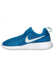 Nike Roshe Run Homme / Slip On Bleu (Ref : 644432-401) Running