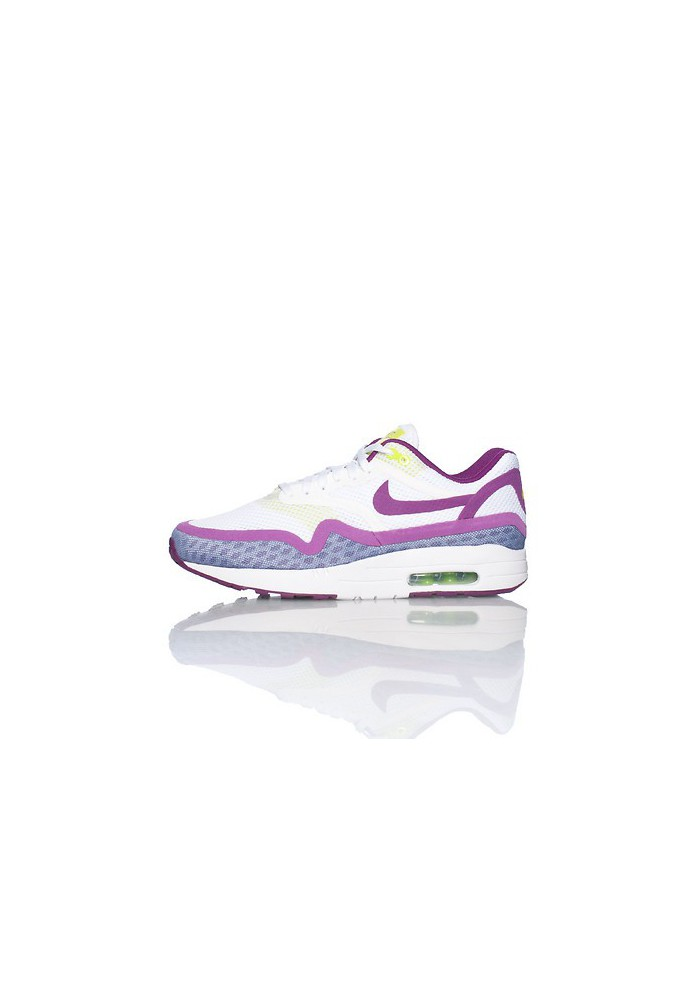 Basket Mode - Nike Air Max 1 Breeze (Ref : 644443-100) Blanche Femmes Running