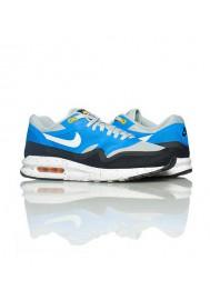 Baskets Nike Air Max Lunar 1 Bleu (Ref : 654469-001) Hommes Running