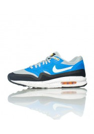 Nike Air Max Lunar 1 Bleu (Ref : 654469-001) Basket Hommes Running