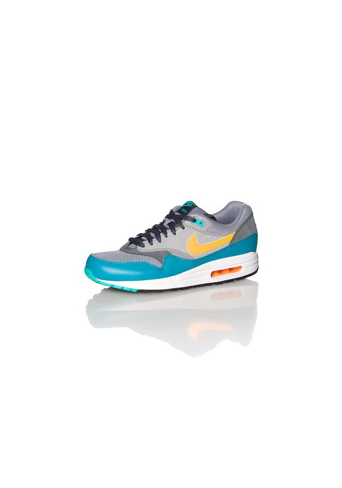 Nike Air Max 1 Essential Grise (Ref : 537383-018) Basket Mode Hommes 2014