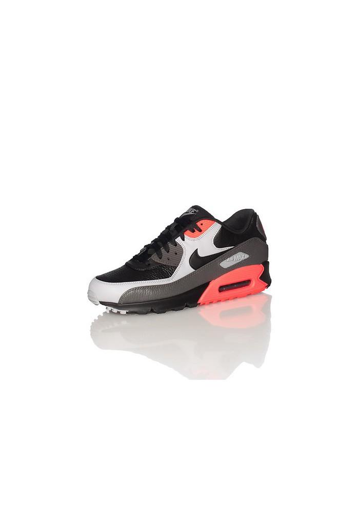 Running Nike Air Max 90 Cuir Noir (Ref : 652980-002) Chaussure Hommes mode 2014