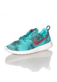 Nike Roshe Run Homme / Print Vert (Ref: 655206-346) Running