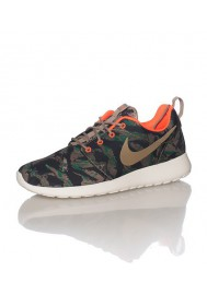 Nike Roshe Run Homme / Print Marron (Ref: 655206-203) Running