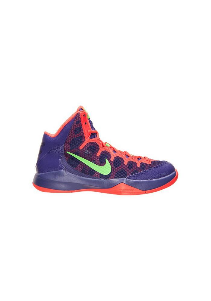 Nike Without a Doubt Basketball 749432-500 Court Purple/Green Strike/Chrome