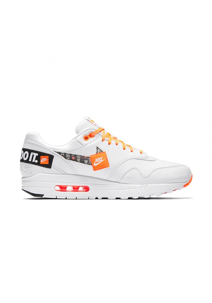"Nike Air Max 1 SE ""Just Do It"" - AO1021-100 White/Total Orange"