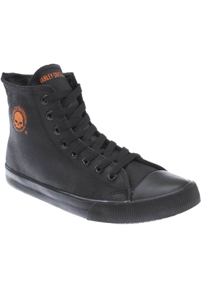 Boots harley davidson Baxter /Orange  en cuir Hi-Cut Sneakers D93343