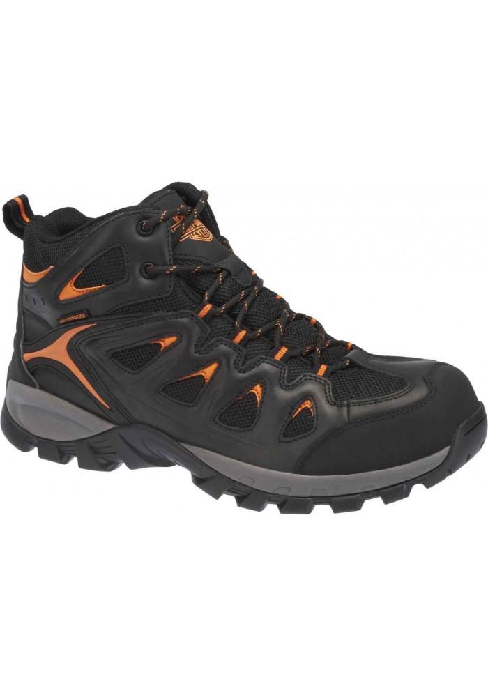 Boots harley davidson  / Safety Toe Woodridge  en cuir  D93329