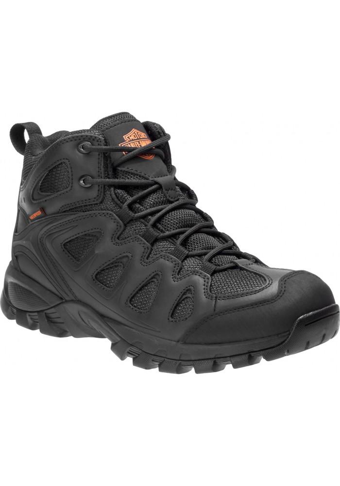 Boots harley davidson Woodridge  Waterproof en cuir Athletic  D93583