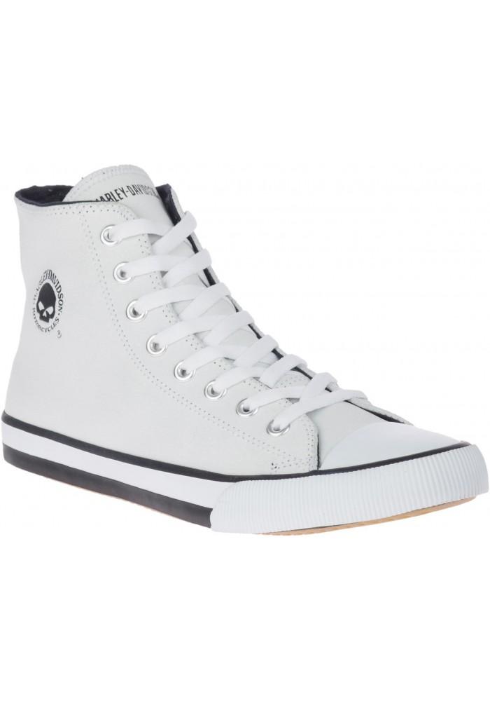 Boots harley davidson Baxter Hi-Top Logo Athletic  Sneakers en cuir D93679