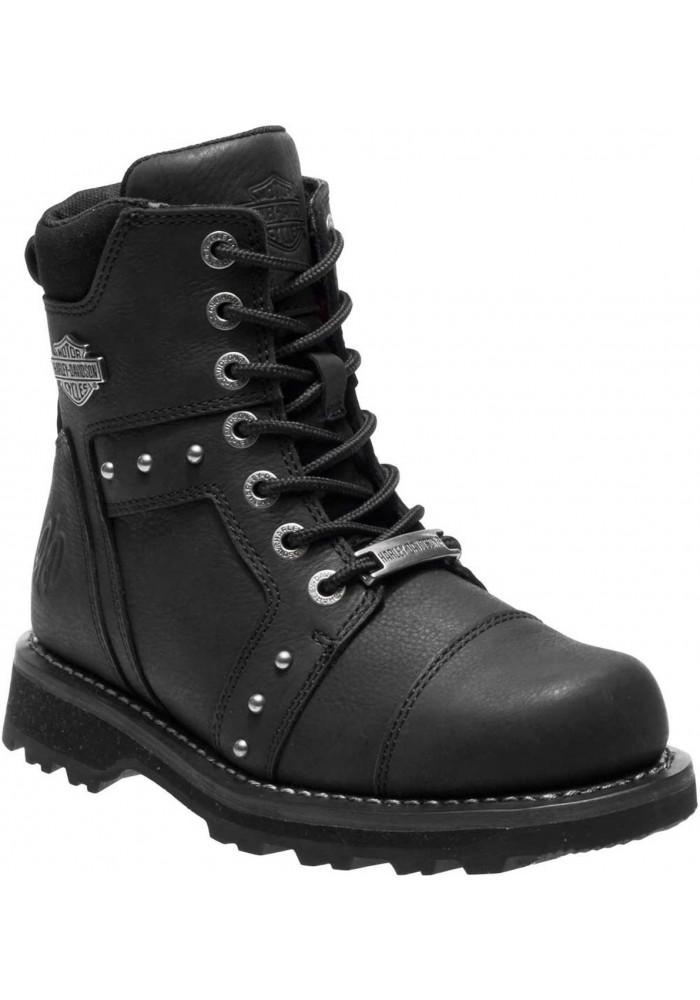 Boots Harley-Davidson  Oakleigh  en cuir pour femmes D84276 D84277