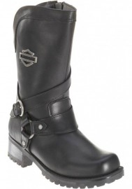 Boots Harley-Davidson Amber noir Motorcycle pour femmes D85514