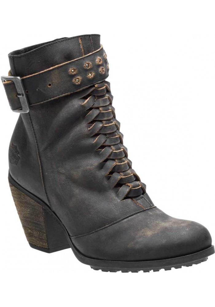 Boots Harley-Davidson  Calkins  en cuir pour femmes D84267 D84268