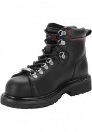 Boots Harley-Davidson Gabby Steel Toe noir Motorcycle pour femmes. D83668