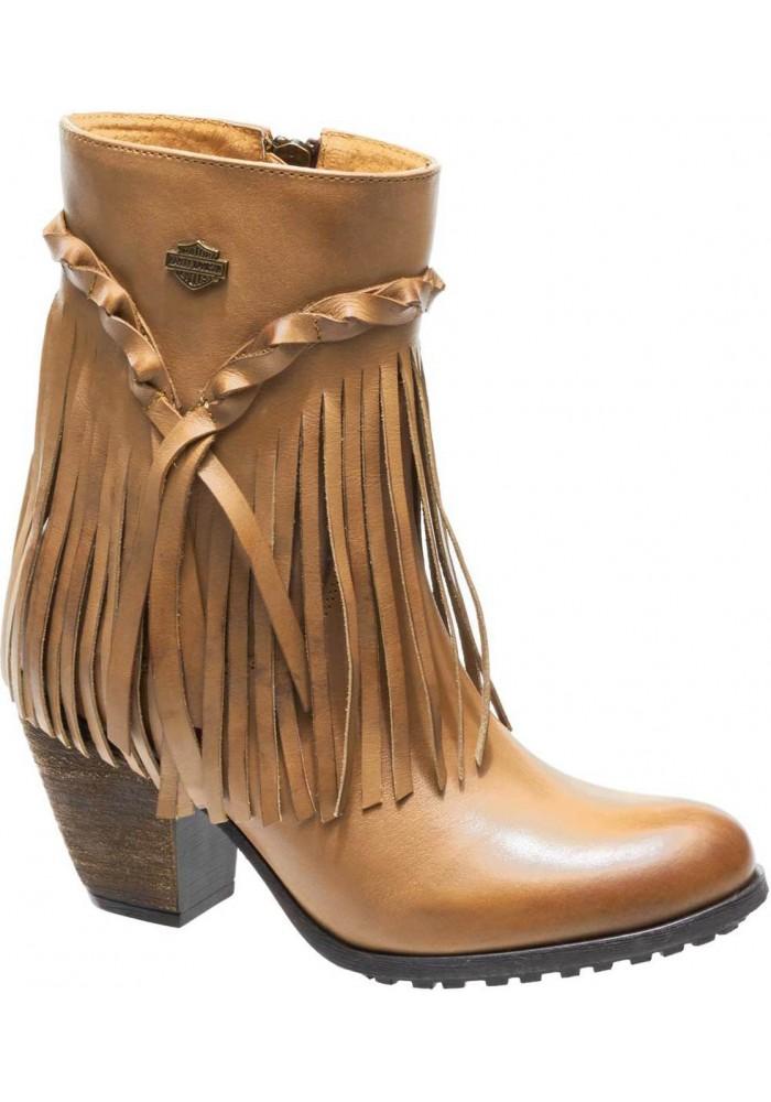 Boots Harley-Davidson  Retta   Stacked Heel Booties  D83985