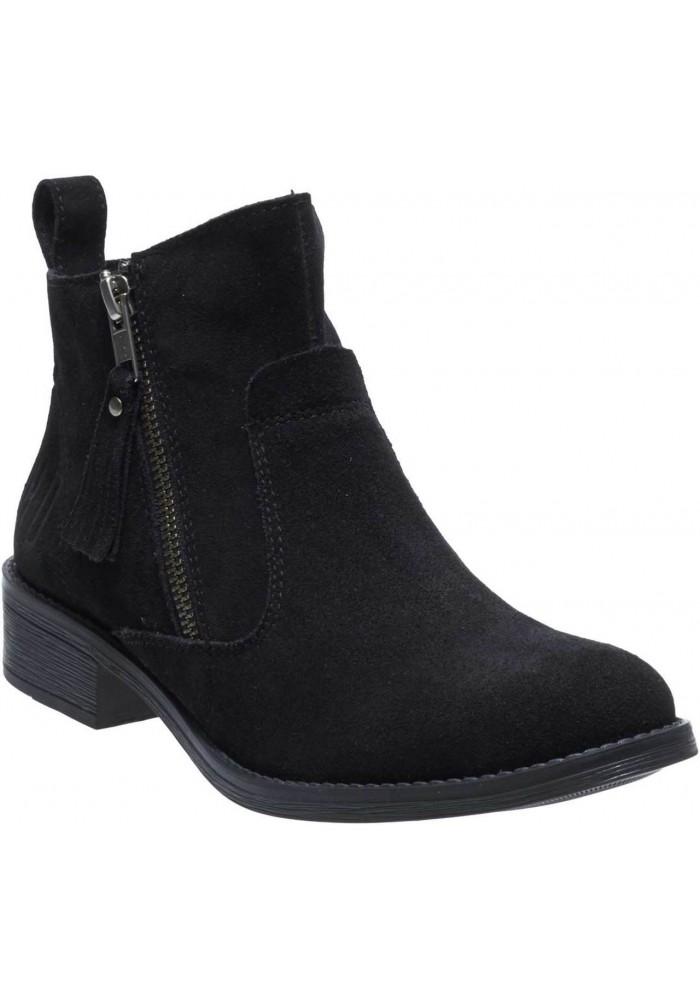 Boots Harley-Davidson Melita noir Suede Ankle pour femmes D88812