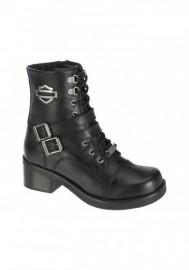 Boots Harley-Davidson Melinda noir pour femmes. D83737