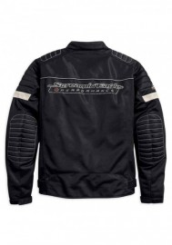 Blouson Harley-Davidson Hommes Screamin' Eagle Mesh Riding Noir 98161-18VM