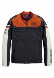 Blouson Harley-Davidson Hommes Colorblocked Soft Shell Casual 98405-19VM