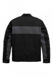 Blouson Harley-Davidson Hommes Copperblock Canvas Casual - Noir 98406-20VM