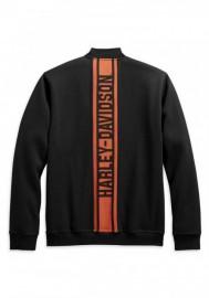 Blouson Harley-Davidson Hommes Vertical Stripe Fleece Casual Noir 98407-20VM