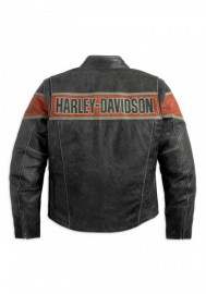 Blouson Harley-Davidson Hommes Victory Lane en cuir 98057-13VM