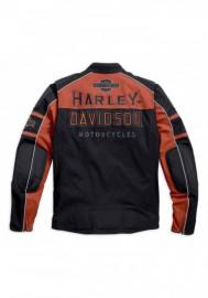 Blouson Harley-Davidson Hommes Gastone Colorblocked Riding Noir 98112-16VM