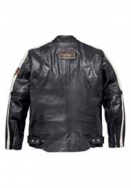 Blouson Harley-Davidson Hommes Command Mid-Weight en cuir Noir 98007-18VM