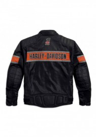 Blouson Harley-Davidson Hommes Trenton Colorblocked Mesh Riding Noir 98111-16VM