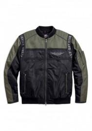 Blouson Harley-Davidson Hommes Mainstreet Colorblocked Nylon Bomber 98583-17VM