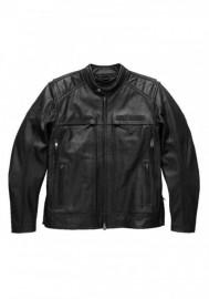 Blouson Harley-Davidson Hommes Synthesis Pocket System en cuir Noir 98118-17VM