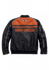 Blouson Harley-Davidson Hommes Casual Moto Ride Bar & Shield Noir 98553-15VM