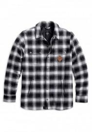 Blouson Harley-Davidson Hommes Noir Label Reinforced Riding Shirt 98192-17VM