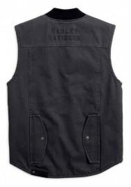 Blouson Harley-Davidson Hommes Quilted Slim Fit Workwear Vest Asphalt Gray 98416-19VM