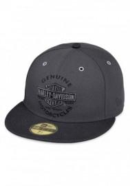 Casquette Harley Davidson Homme Genuine Logo 59THIRTY Baseball Cap Black 99401-17VM