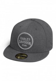 Casquette Harley Davidson Homme Circle Patch 59FIFTY Baseball Cap Black 99401-20VM