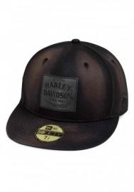 Casquette Harley Davidson Homme Distressed 59FIFTY Baseball Cap Asphalt 99462-19VM