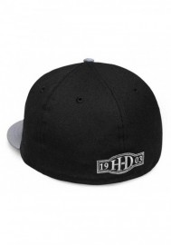 Casquette Harley Davidson Homme High Density Print 59FIFTY Baseball Cap Black 99429-18VM