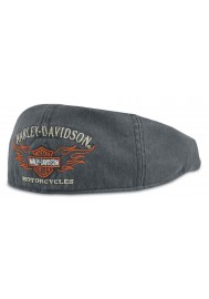 Casquette Harley Davidson Homme Bar & Shield Flames Graphic Ivy Cap 99537-11VM