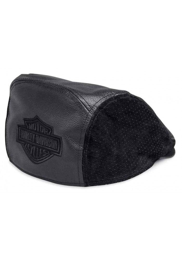 Casquette Harley Davidson Homme Bar & Shield Logo Leather Ivy Cap Black 99432-18VM