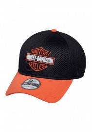 Casquette Harley Davidson Homme Colorblocked B&S 39THIRTY Baseball Cap Black 99447-16VM