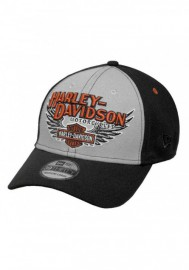 Casquette Harley Davidson Homme Eagle Wings 39THIRTY Baseball Cap Black 99459-17VM