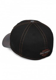 Casquette Harley Davidson Homme Colorblocked 39THIRTY Baseball Cap Black 99446-16VM