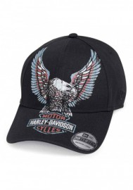 Casquette Harley Davidson Homme Printed Upright Eagle 39THIRTY Baseball Cap 99473-19VM