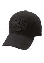 Casquette Harley Davidson Homme Phantom Bar & Shield Logo Baseball Cap Black 99415-16VM